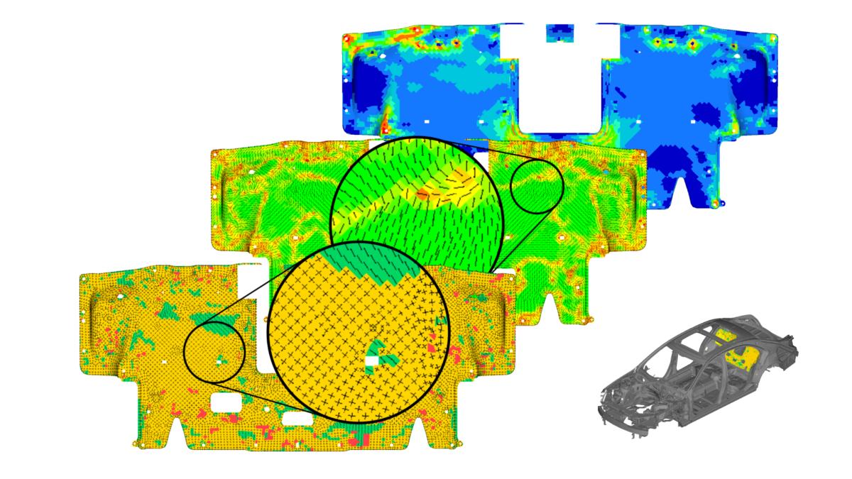 Spannungskonzentrationen, Lastpfadkontinuität, Lagenaufbau und Orientierung