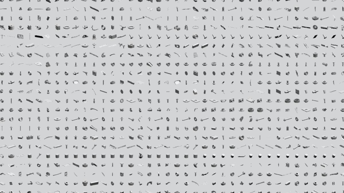 Erstellung einer Datenbank von Bauteilgeometrien