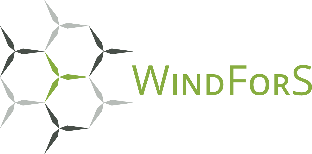 We are part of the wind energy research cluster WindForS!